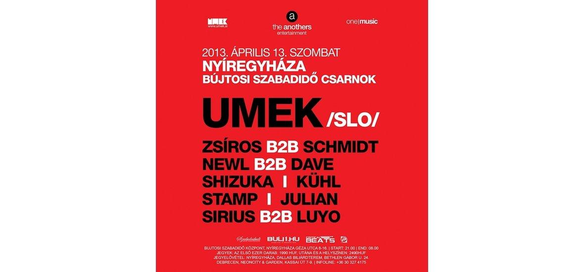 'THE ANOTHERS' BEMUTATJA: UMEK - 2013. ÁPRILIS 13. - NYÍREGYHÁZA