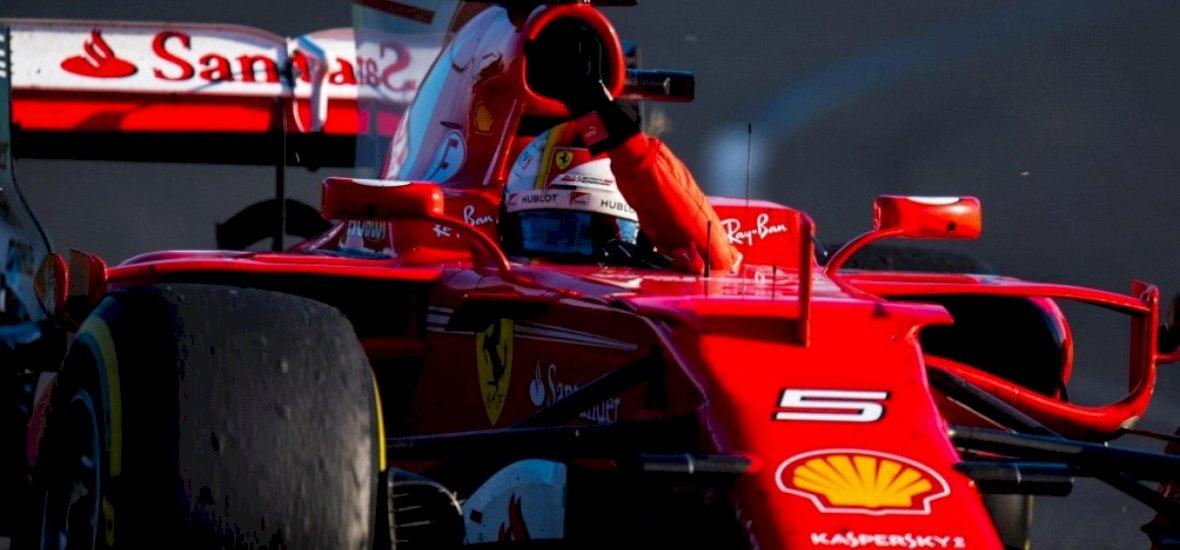 Meglepetés az idény első futamán: Vettel győzött