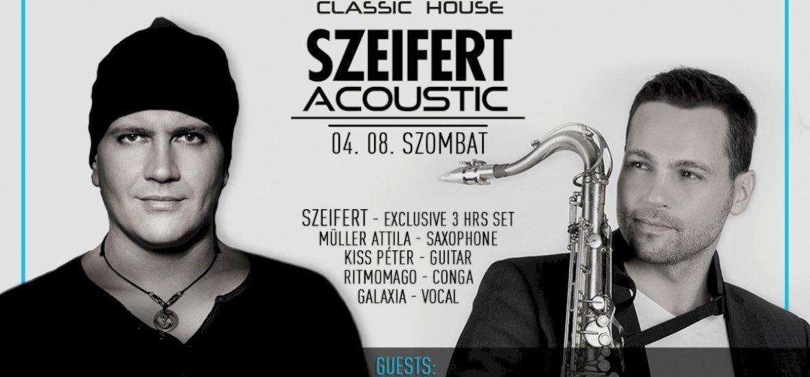 Akusztikus show-val készül Szeifert