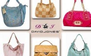30%-os kedvezménnyel várja vásárlóit a David Jones táskabolt október 12. és 13-án! Újítsd fel táskakészleted!