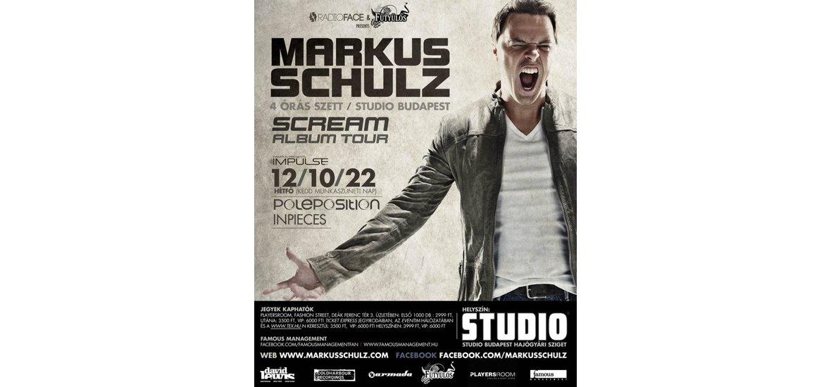 Markus Schulz újra Budapesten!