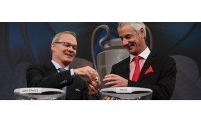 Itt vannak a Bajnokok Ligája és az Európa-liga elődöntő párosításai