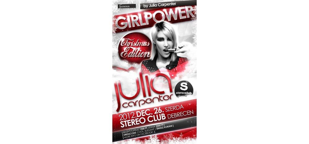 GIRLPOWER Christmas Edition by Julia Carpenter