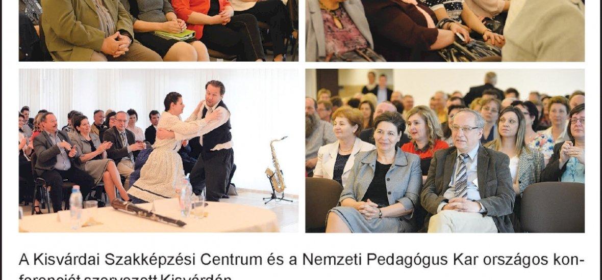 GINOP 5.2.5-16-2016-0001 - GINOP 5-2-4-16-2016. Kisvárdai SZC - a Szakképzési Centrumok és a Nemzeti Pedagógus Kar együttműködése 2017.04.28.