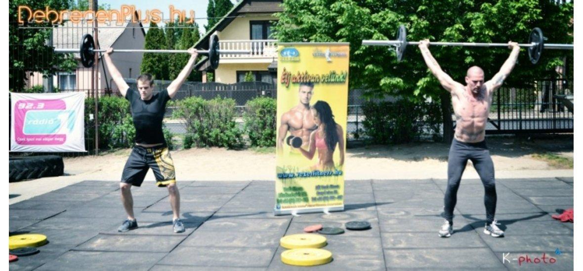 2013. május 05-én megrendezésre került az I. Cross Training bajnokság a Vezér Fitness által.
