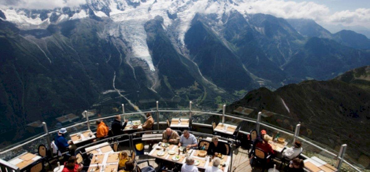 30 étterem gyönyörű kilátással a világ minden tájáról