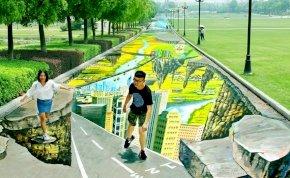 Elkészült a világ leghosszabb 3D-s graffitije