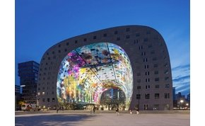 Rettentően menő Rotterdam 36.000 négyzetméteres freskója