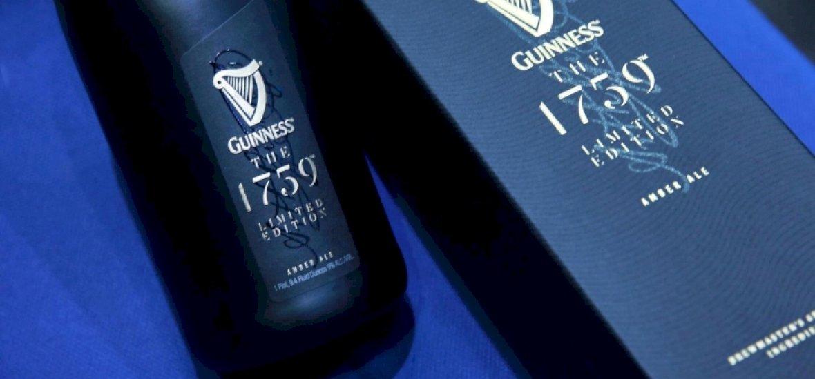Luxussört dob a piacra a Guinness