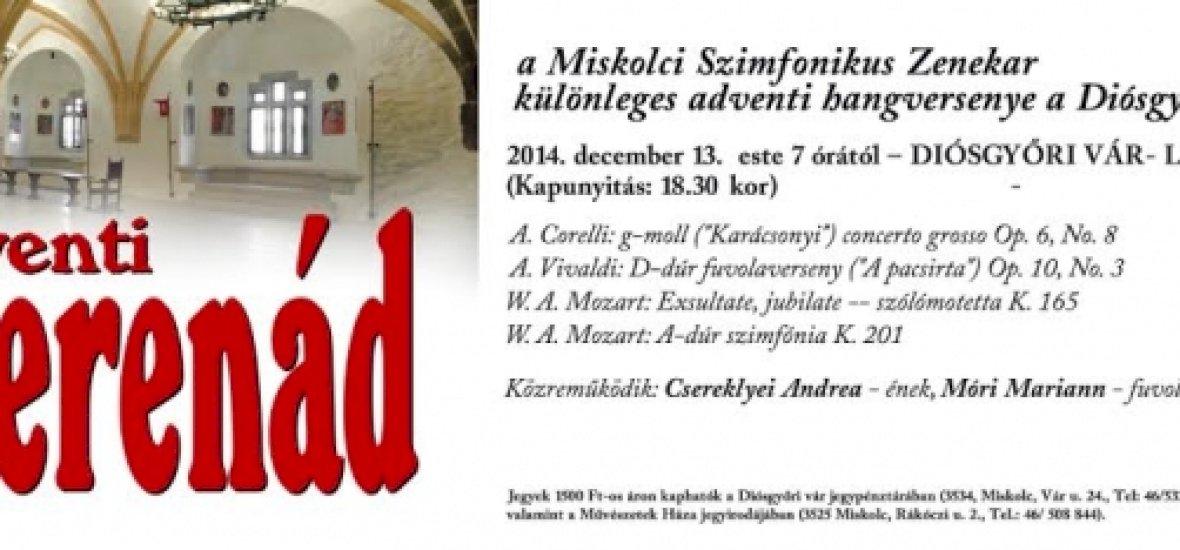 Adventi koncert a felújított Diósgyőri várban