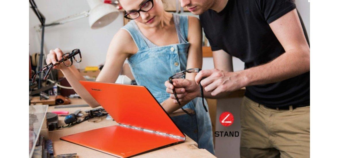 Szuperhajlékony ultrabook: Lenovo Yoga 3 Pro