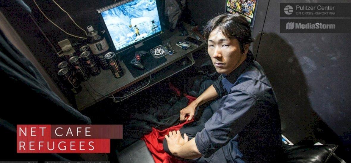 Egyre többen élnek internetkávézókban Japánban