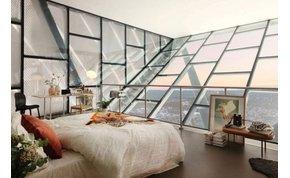 Penthouse egy sísánc tetején