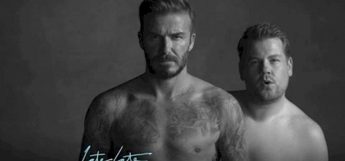 Parádés David Beckham új reklámja