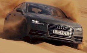A dubaji sivatagot is leküzdi az Audi A7