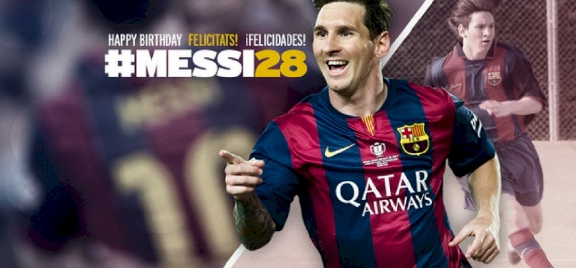 Boldog szülinapot, Messi!