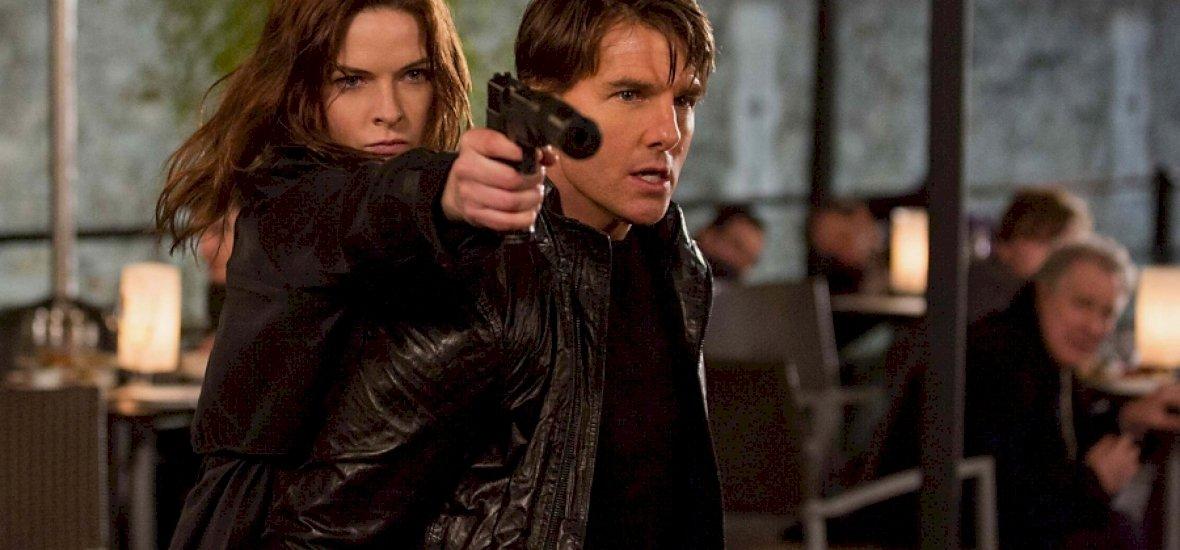 Tom Cruise újra bevetésen!