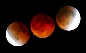 Jön a teljes holdfogyatkozás hétfő hajnalban