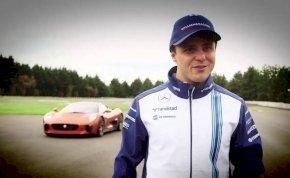 Massa megforgatta az új James Bond-autót