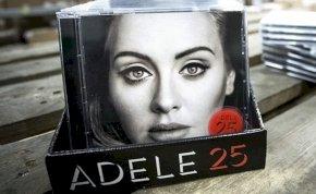 Adele lemeze volt a csúcs tavaly