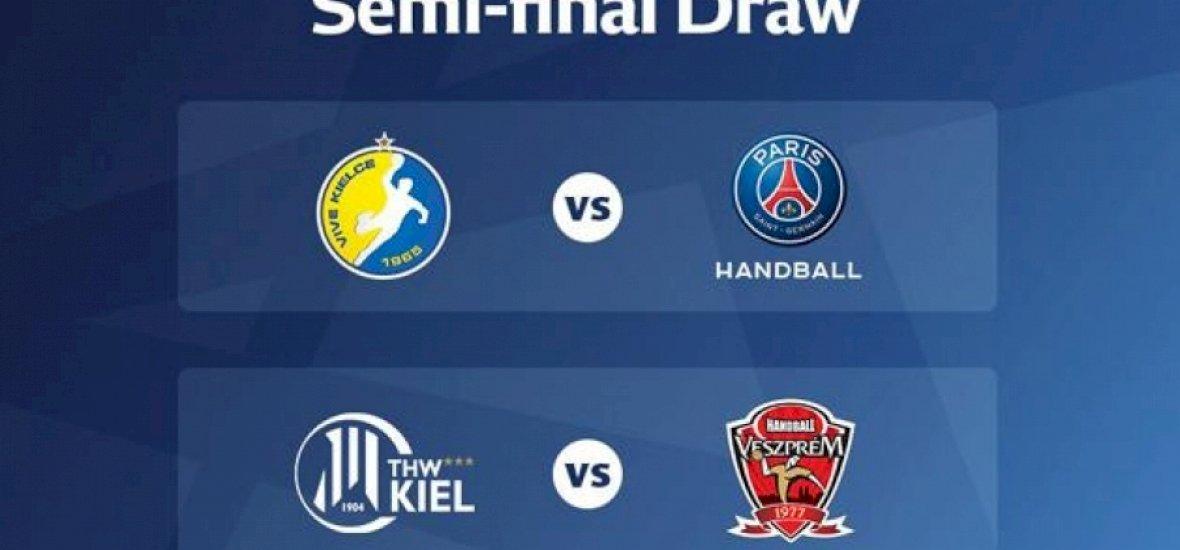 Kézilabda: a Kiel lesz a Veszprém ellenfele az elődöntőben