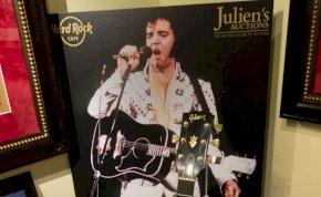 93 millió forintért kelt el Elvis gitárja