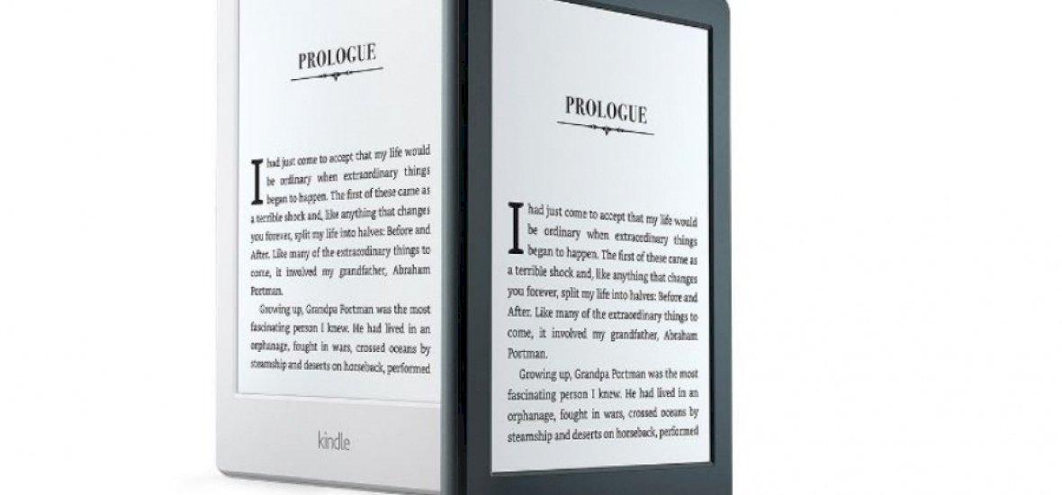 Hófehér külsővel érkezik az új Kindle