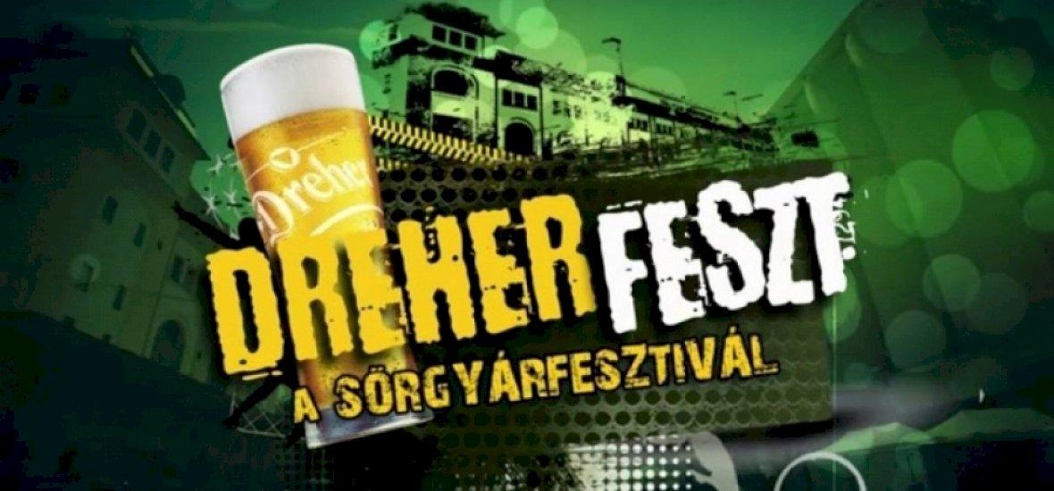 Jön a DreherFeszt, ahol a sörgyár megnyitja kapuit a látogatók előtt