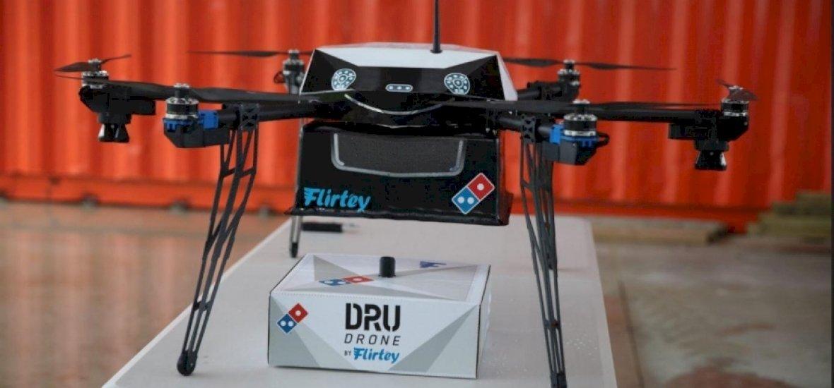 Új-Zéland pizzafutár-drónokkal támad