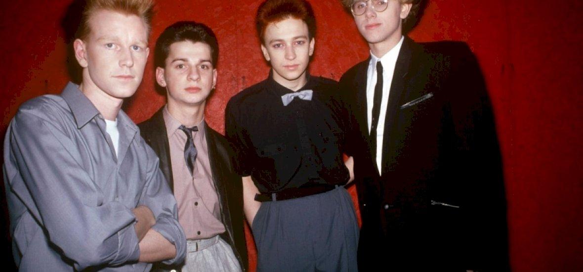 Ősrégi Depeche Mode koncert felvételt találtak