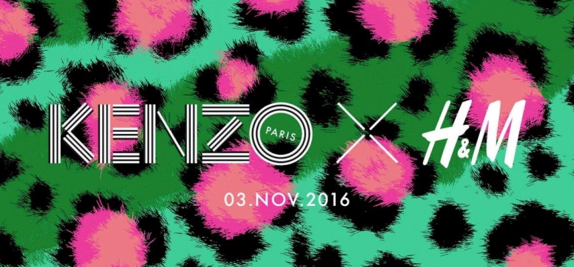 Novemberben érkezik a Kenzo x H&M
