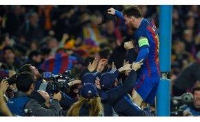 Történelmet írt a Barcelona!