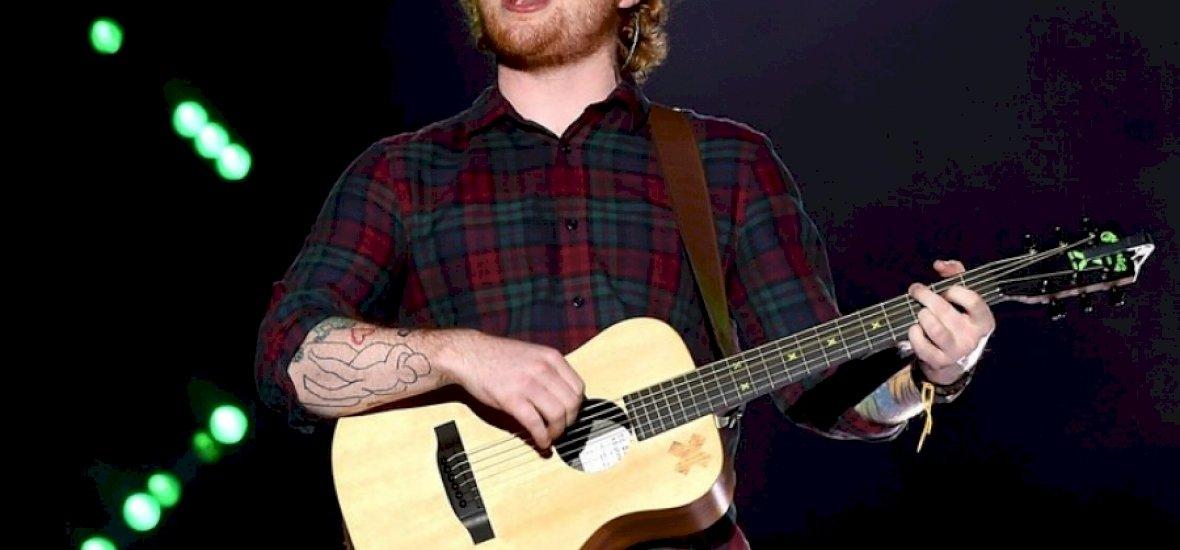Ed Sheeran új albuma rekordokat döntöget