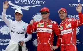 Räikkönen 2008 óta nem nyert időmérőt – hát most nyert