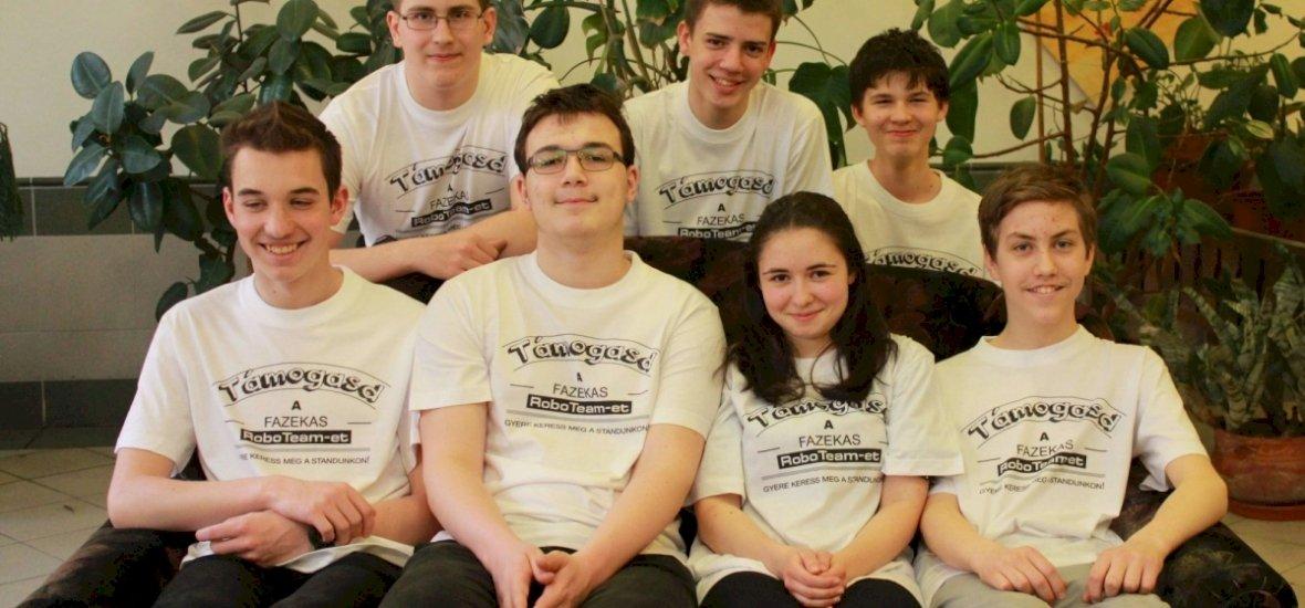 Magyar diákok nyerték a washingtoni robotépítő versenyt