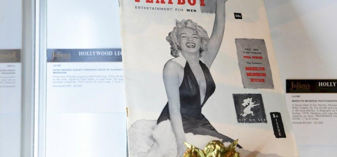 Hugh Hefner első címlaplánya, Marilyn Monroe mellé temetteti magát