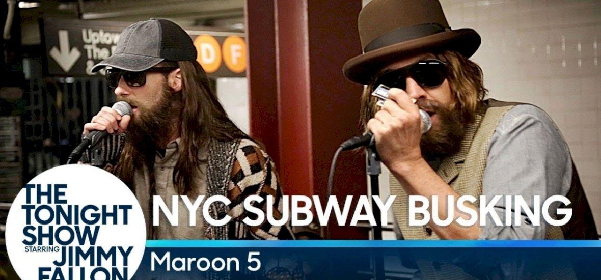 Sétálgatsz a metróban, aztán ott van a Maroon 5