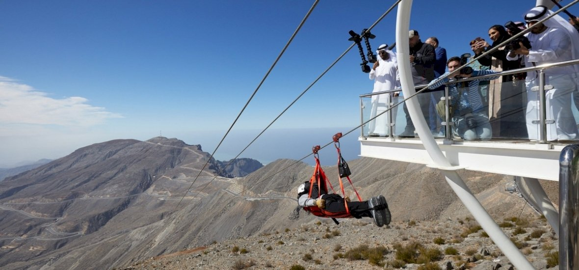 Kipróbálnád a világ leghosszabb kötélpályáját?