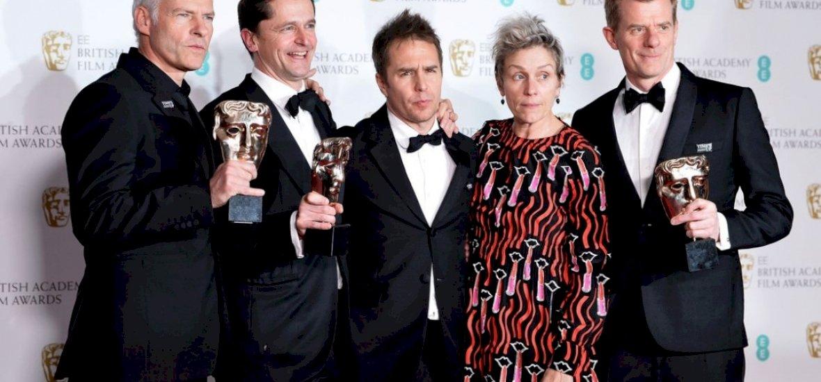 BAFTA-díj: a Három óriásplakát Ebbing határában tarolt az átadón