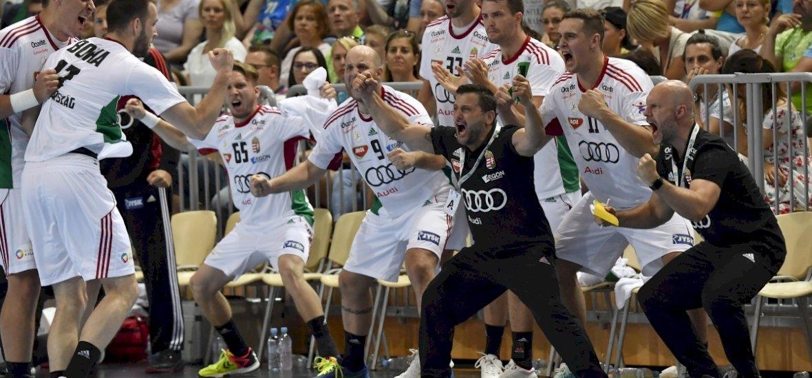 Szenzációs győzelmet aratott a magyar válogatott a vb-3. otthonában