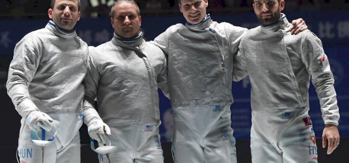 Világbajnoki bronzérmes a magyar férfi kardcsapat