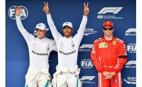 Hiába a Ferrari-fölény, leszakadt az ég, és Hamiltonék taroltak a Hungaroringen