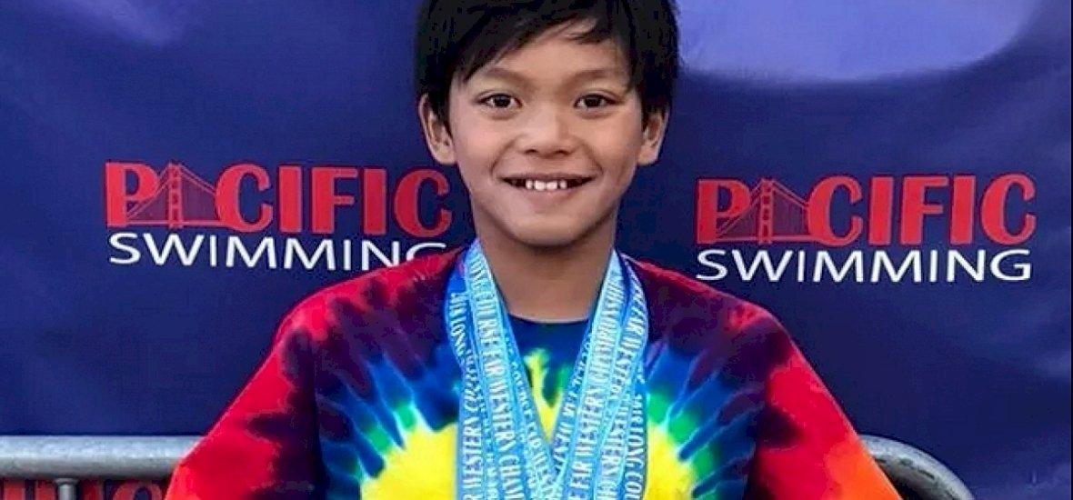 Tíz éves srác döntötte meg az úszófenomén, Phelps rekordját