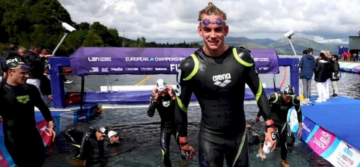 Úszó-eb: Rasovszky Kristóf ezüstérmet szerzett 10 km-en