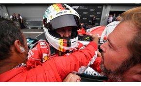 Forma-1: a hatalmas rajtbaleset után Vettel élni tudott esélyével