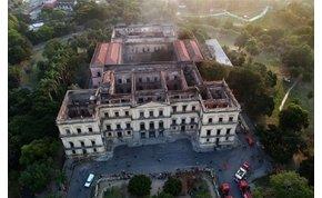 A riói múzeum teljes egyiptomi gyűjteménye elpusztult