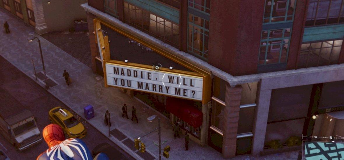 Hihetetlen kérdés bukkan fel a Spider-Man játékban, majd a való életben jön a fordulat