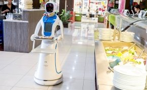 Inkább marketingfogás a robotpincér