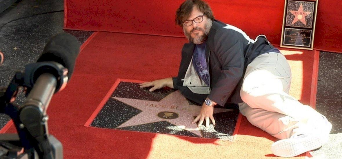 Jack Blacknek is járt egy csillag