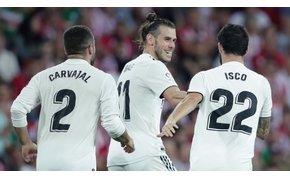 Bale Dzsudzsákként csapott le, Szalai négy év után tért vissza a BL-be